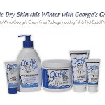 Winter time means dry skin.  Why George's cream is your new best friend {Review & Canadian Giveaway}