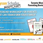 Looking for parenting advice? You need to attend Alyson Schafer's parenting boot camp!