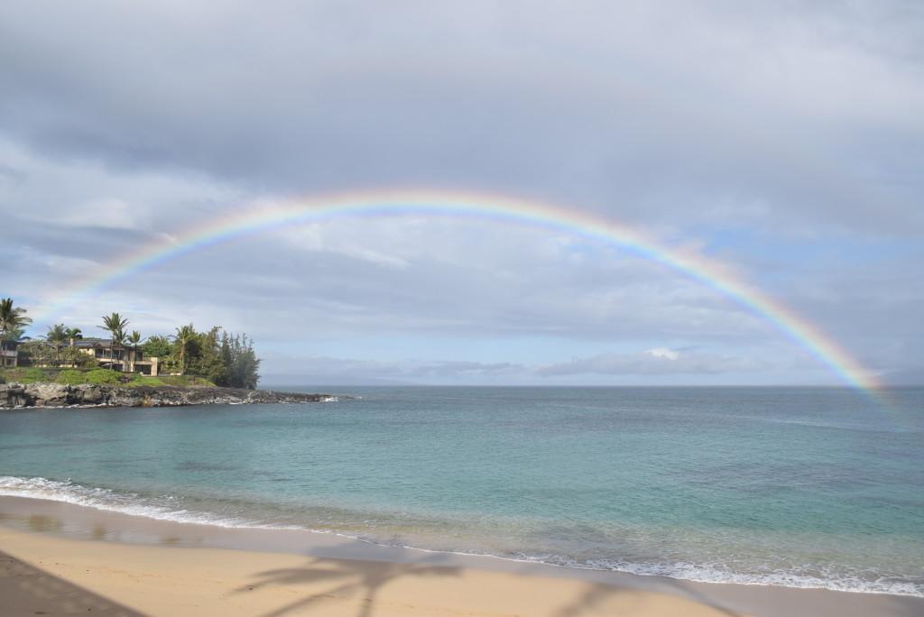 rainbow in hawaii