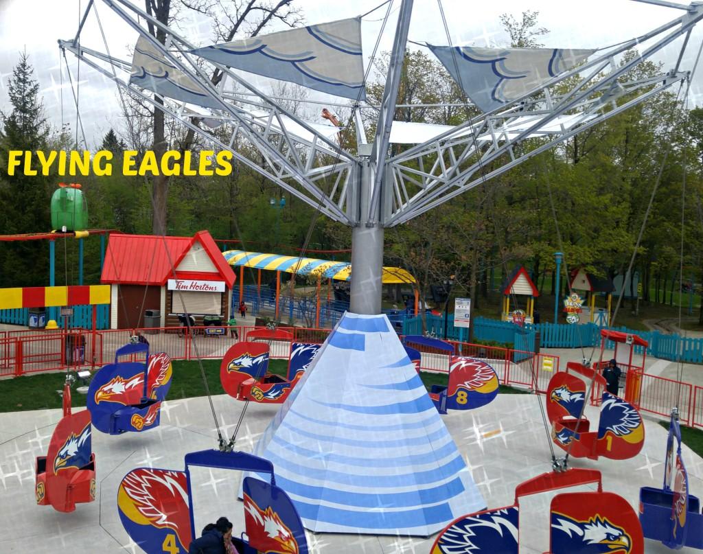 CW flying eagles ride