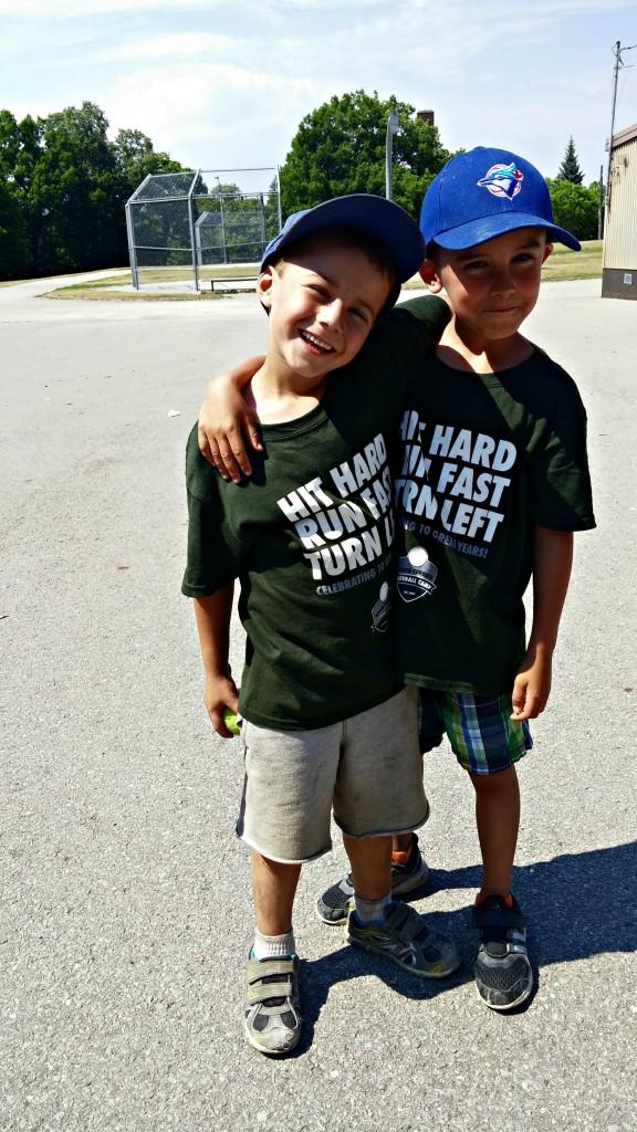 Kyle & Ladon baseball