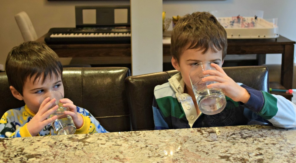 NPL Kyle & Ryan drinking water