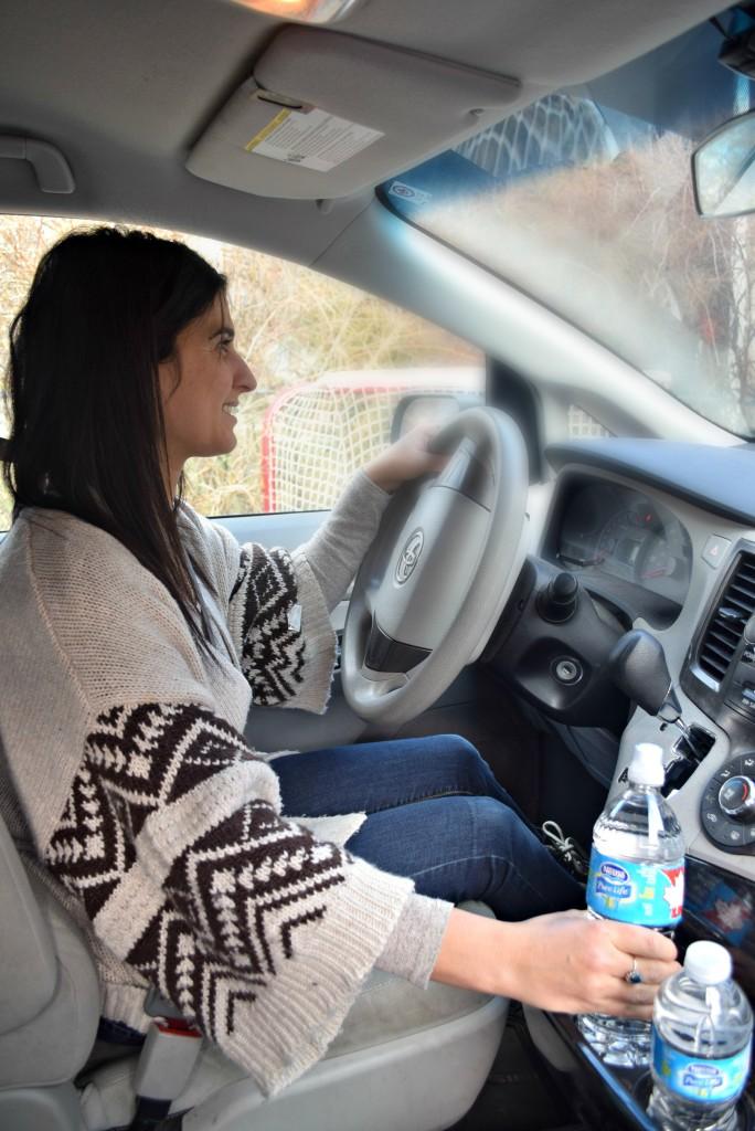NPL water in car
