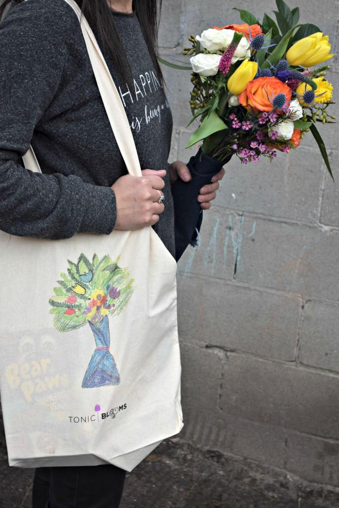 tonic blooms bag