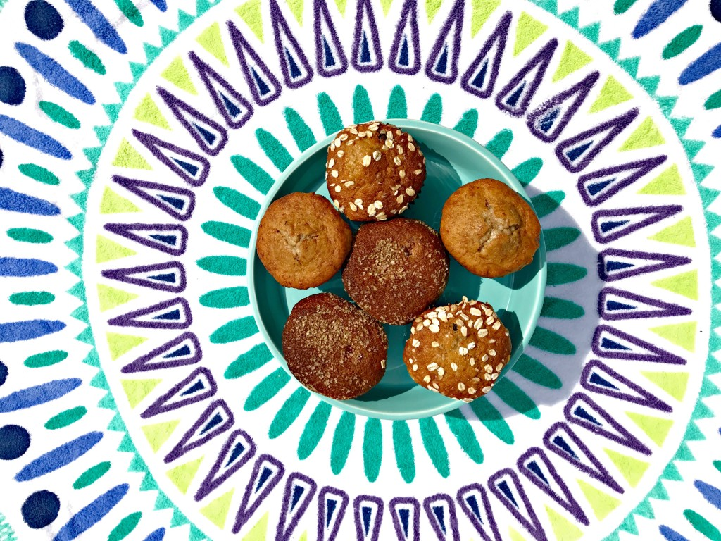 good and simple muffins colourful