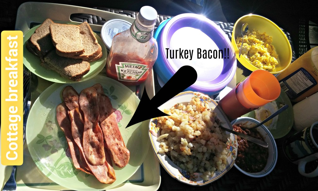 turkey bacon cottage breakfast