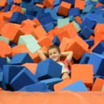 Kyle's 7th birthday party at Sky Zone Toronto